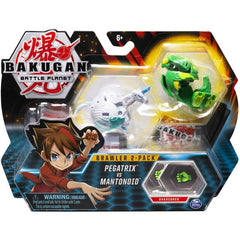 Bakugan Brawler 2-Pack Pegatrix VS Mantonoid