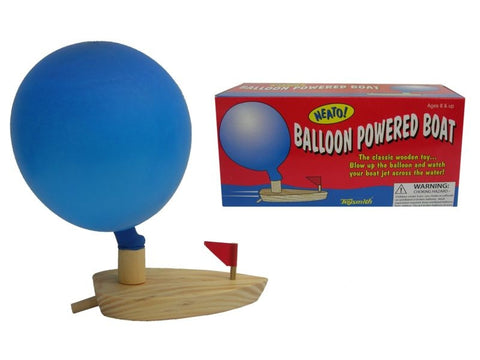 Balloon powered Paddle Boat