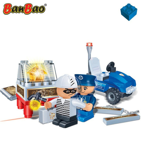 Banbao Policeman and Thief 8347