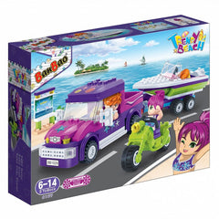 Jeep and Boat Banbao blocks 6127