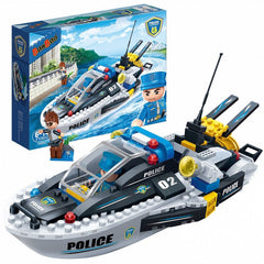 Police Boat Banbao blocks 7006