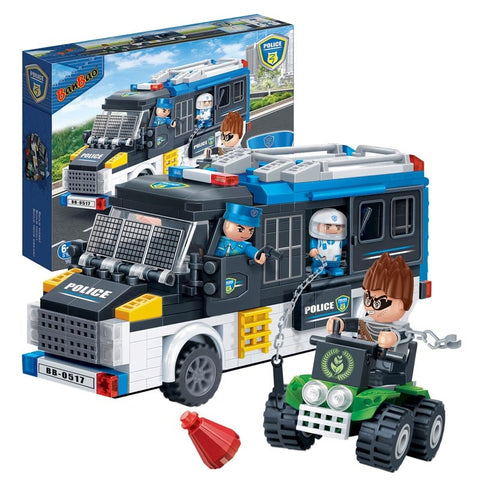 Police Van 325pcs Banbao blocks 7003