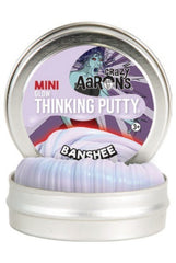 Thinking Putty Mini Tin Crazy Banshee - 5cm