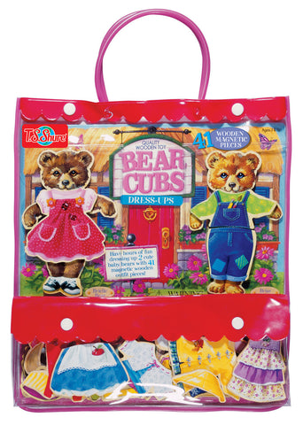 Bear Cubs Dress Up Set magnetic play