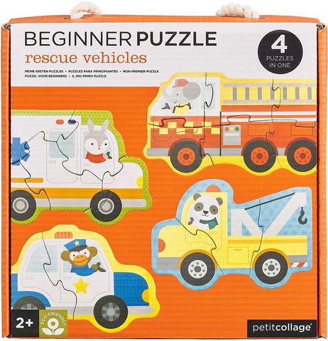 Rescue Vehicles Beginner Puzzle