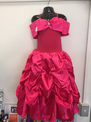 Belle Hot Pink Dress ( size small )