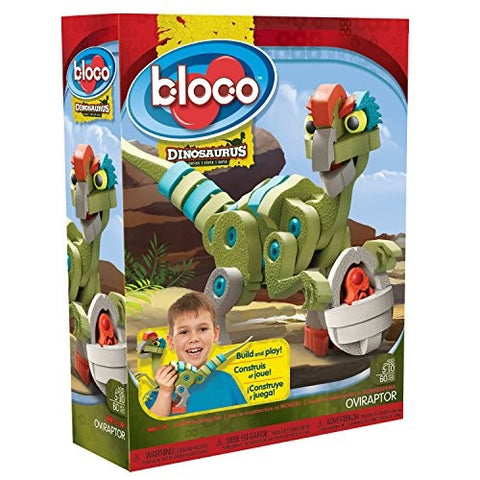Bloco Oviraptor Dinosaurs 60 Piece Construction Set