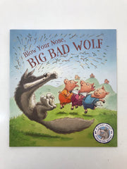 kidz-stuff-online - Blow Your Nose, Big Bad Wolf!: A Story About Spreading Germs