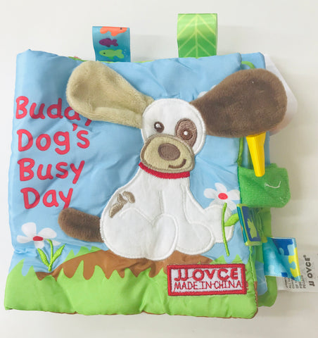 Buddy Dog's Busy Day Cloth Book