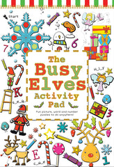 The Busy Elves Activity Pad