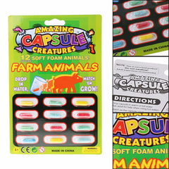 kidz-stuff-online - Capsule Creatures - Growing Pet Farm Animals