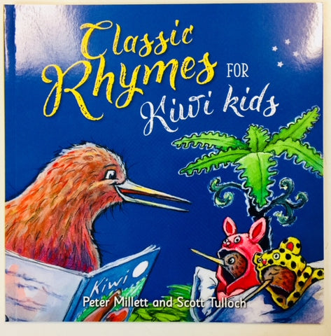 Classic Rhymes for Kiwi Kids - Book