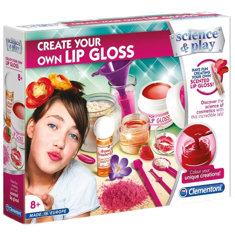 Create Your Own Lip Gloss Science & Play Clementoni