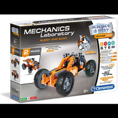 kidz-stuff-online - Clementoni Mechanics Laboratory Buggy & Quad