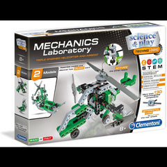 kidz-stuff-online - Mechanics Laboratory Triple-Engined Helicopter and Airboat