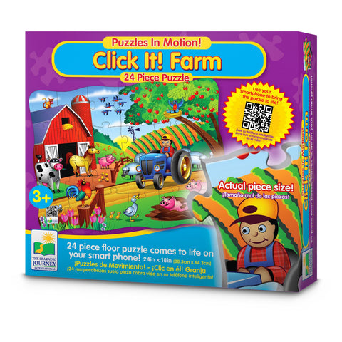 Click - It - Farm 24 piece puzzle