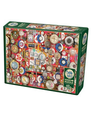 Timepieces 1000 piece puzzle
