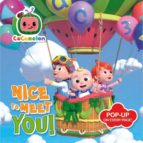 CoComelon Nice To Meet You Pop Up Book
