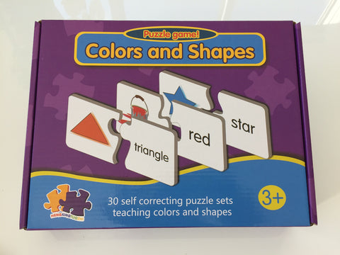 Puzzle Game Colors and Shapes