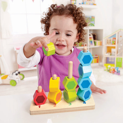 Counting Stacker - Wooden Block Set Hape