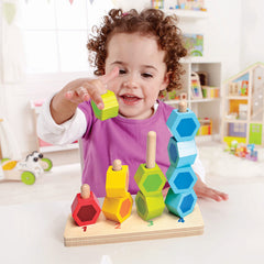 kidz-stuff-online - Counting Stacker - Wooden Block Set Hape