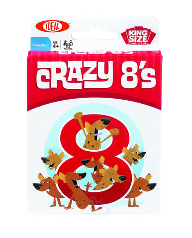 Ideal Crazy 8s Card Game
