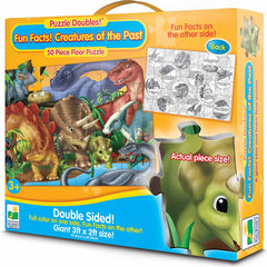 The Learning Journey Puzzle Doubles! Fun Facts Creatures of the Past