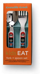 Crocodile Creek Cutlery Set (Jungle Jamboree)