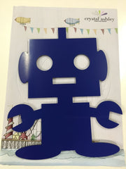 kidz-stuff-online - Robot Wall Art by Crystal Ashley