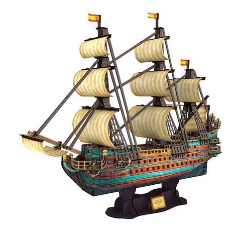 The Spanish Armada San Felipe 3D Puzzle