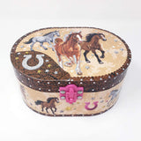 Musical Jewellery box Dashing Horse