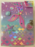 Mermaid Diary lockable