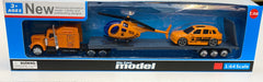 Die Cast Model Helicopter and Car
