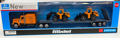 Die Cast Model Transporter Truck and Diggers