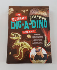 The Ultimate Dino Dig Book & Kit