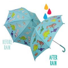 colour changing umbrella- dino