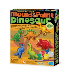 kidz-stuff-online - Mould & Paint Kit - Dinosaur (Glow Kit)