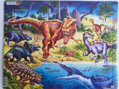 Dinosaur Puzzle - 57 pieces