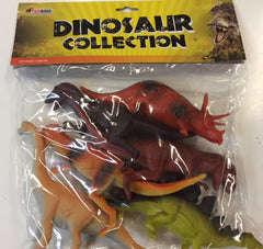 Dinosaurs in polybag
