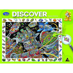 Discover Puzzle - Space Colony 100pc Jigsaw Puzzle