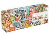 Djeco 100pc Gallery Puzzle - King's Party