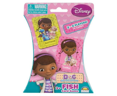 Disney Fish Card Game Doc Mcstuffins