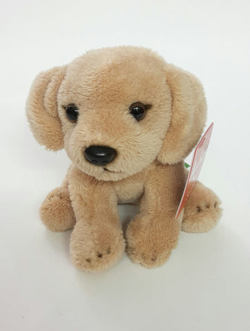 Antics Dog Beige Plush