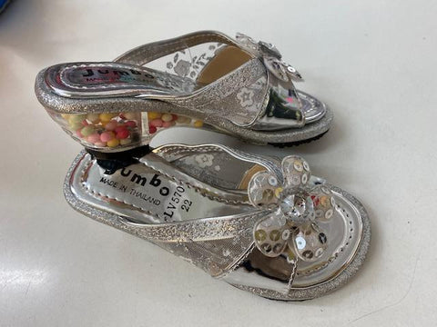 Dress Up Shoes silver LV507 Size 22