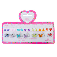 kidz-stuff-online - Kids Butterfly Ring Earrings Set