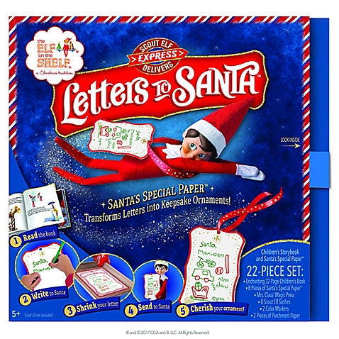 Elf on a shelf Letters to Santa Kit