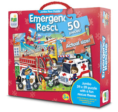 kidz-stuff-online - Jumbo Floor Puzzle - Emergency Rescue