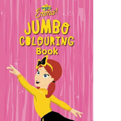 The Wiggles Emma Jumbo Colouring Book