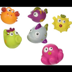 kidz-stuff-online - Bath Squirters Sea Animals - Escabbo