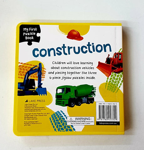 My First Puzzle Book Construction